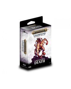 Warhammer Champions Death starter deck