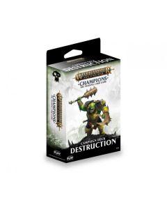 Warhammer Champions Destruction starter deck