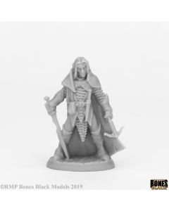 Reapermini Dark elf male warrior