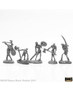 Reapermini Bog Skeletons (5)