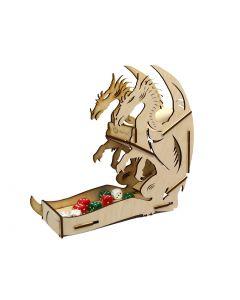 E-raptor, Dice tower, Wooden, Dragon