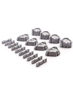 Gamemat prepainted modern table set