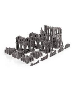 Gamemat prepainted gothic table set