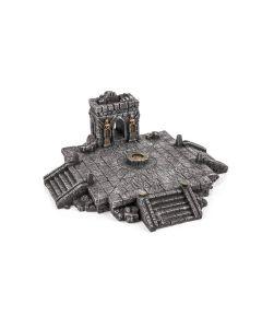 Gamemat prepainted gothic Altar/ Temple