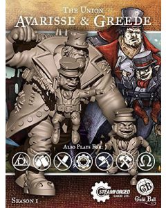 Guild ball Union Avarisse and Greede