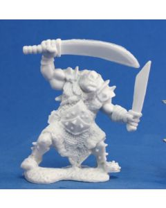 Reapermini Orc stalker (2 weapons)