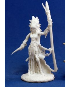 Reapermini Liela, Dark elf wizard