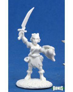 Reapermini Elliwyn Heatherlark, Gnome Bard
