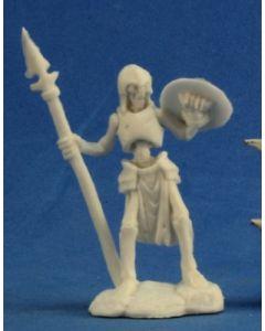 Reapermini Skeleton guardian spearmen (3)