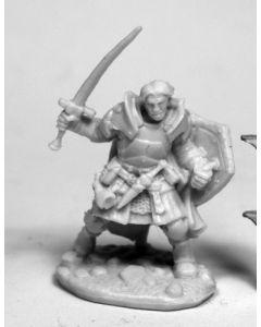 Reapermini Rheagar, male fighter
