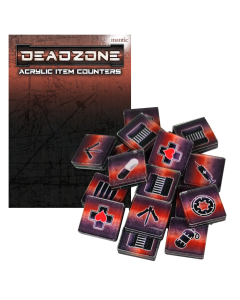 Mantic Deadzone V3. Acryl Token Pack (shipping 25oct)