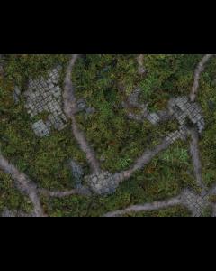 Kraken Killteam / Warcry mat Ancient Green