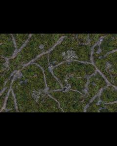 Kraken Battlemat Ancient Green