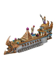 Kings of War Armada Empire of Dust Monolith ship