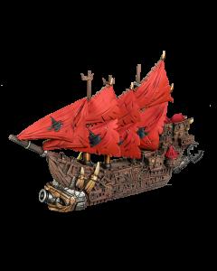Kings of War Armada Orc Ripper Hulk ship