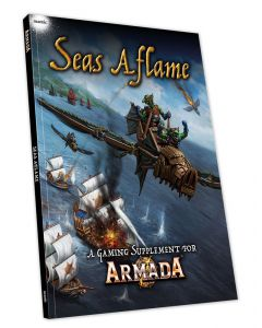 Kings of War Armada Seas Aflame supplement book