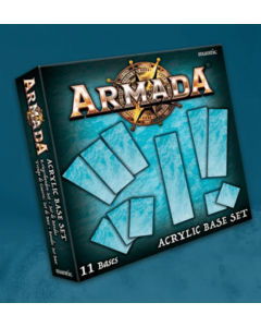 Kings of War Armada Acrylic bases (11)