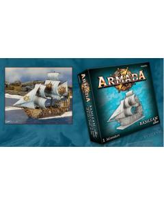 Kings of War Armada Basilean Abess Ship