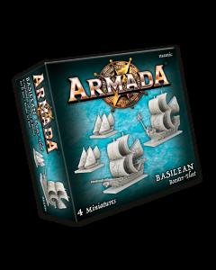 Kings of War Armada Basilean booster