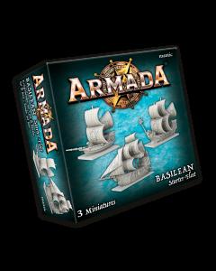 Kings of War Armada Basilean starter