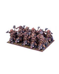 Kings of War Dwarf Brock Riders Regiment