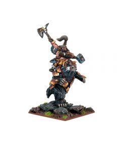 Kings of War Dwarven Lord on Brock