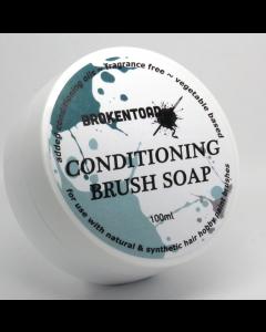 BrokenToad Brush soap