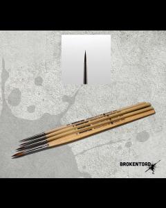 BrokenToad Miniature Series MK3 Brush Size 0