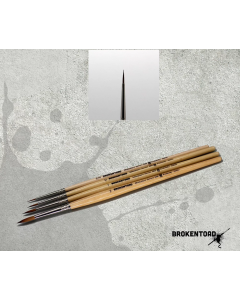 BrokenToad Miniature Series MK3 Brush Size 3/0