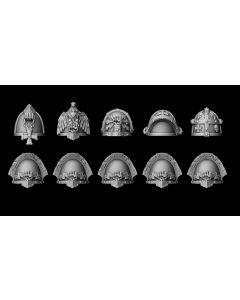 Liber Daemonica Fists shoulder pad set (10)