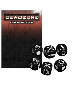 Mantic Deadzone V3. Command Dice Pack (shipping 25oct)