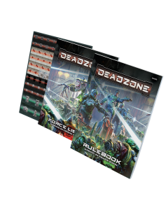 Mantic Deadzone V3. Books and Counter pack (shipping 25oct)