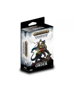 Warhammer Champions Order starter deck
