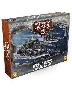 Dystopian Wars: Descartes battlefleet set