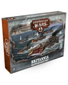 Dystopian Wars: Britannia Battlefleet Starter