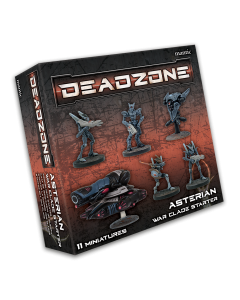 Mantic Deadzone V3. Asterian War Clade Starter (shipping 25oct)