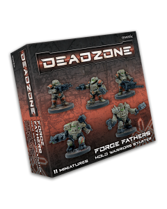 Mantic Deadzone V3. Forge Father Hold Warriors Starter (shipping 25oct)