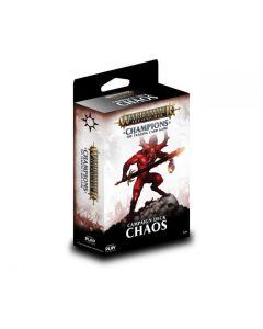 Warhammer Champions Chaos starter deck