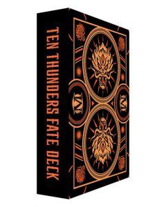Wyrd Malifaux 3e: The Ten Thunders Fate deck
