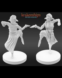 Krakenships Phoradin female monk