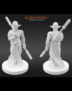 Krakenships Phoradin male monk