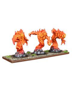Kings of War Forces of nature Fire Elemental regiment