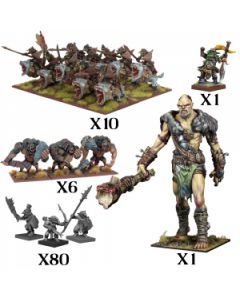 Kings of War Goblin mega starter army