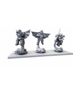 Kings of War Halfling EJ Grenadiers