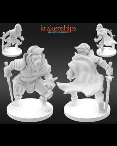 Krakenships Grimalkin Catfolk fighter