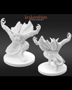 Krakenships Grimalkin Catfolk monk