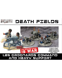 Wargames Atlantic Les Grognards Heavy weapons team