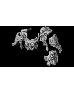 Liber Daemonica Hound Dreadnought conversion set