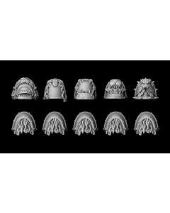 Liber Daemonica Hound shoulder pad set (10)