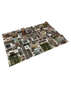 Dropzone Commander Ruined City Scape Battlefield set 6x4